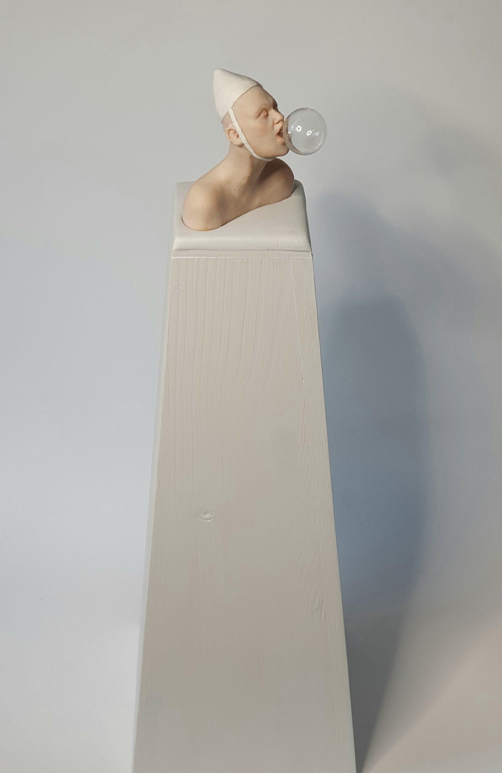 Kunst: Bellenblazer van kunstenaar Saskia Hoeboer