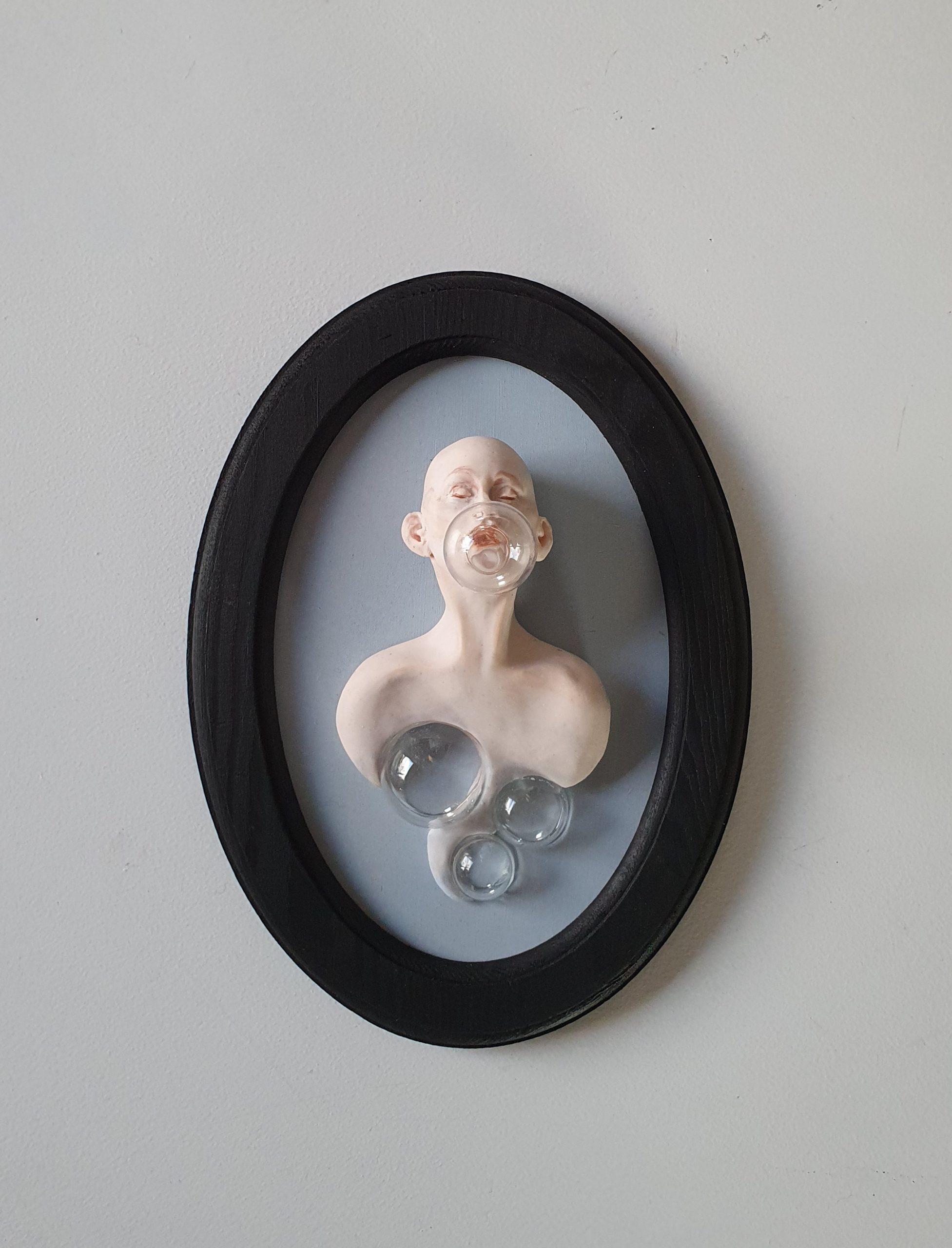 Kunst: Bubble 2 van kunstenaar Saskia Hoeboer