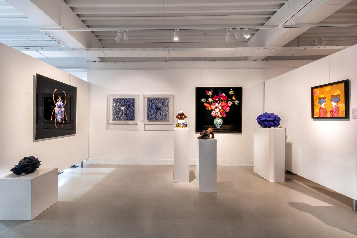 moderne kunstgalerij open op afspraak