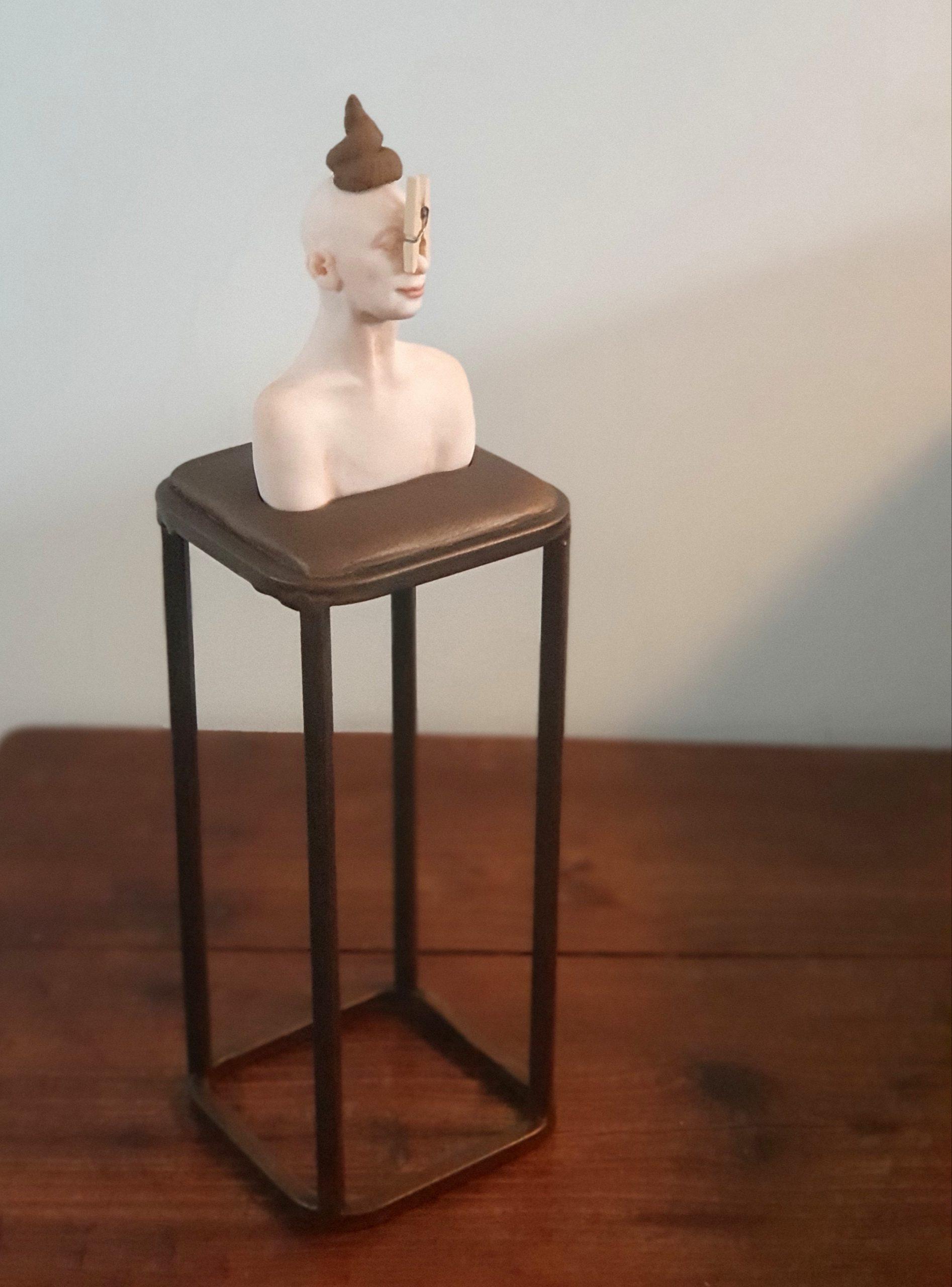 Kunst: Kakkertje van kunstenaar Saskia Hoeboer