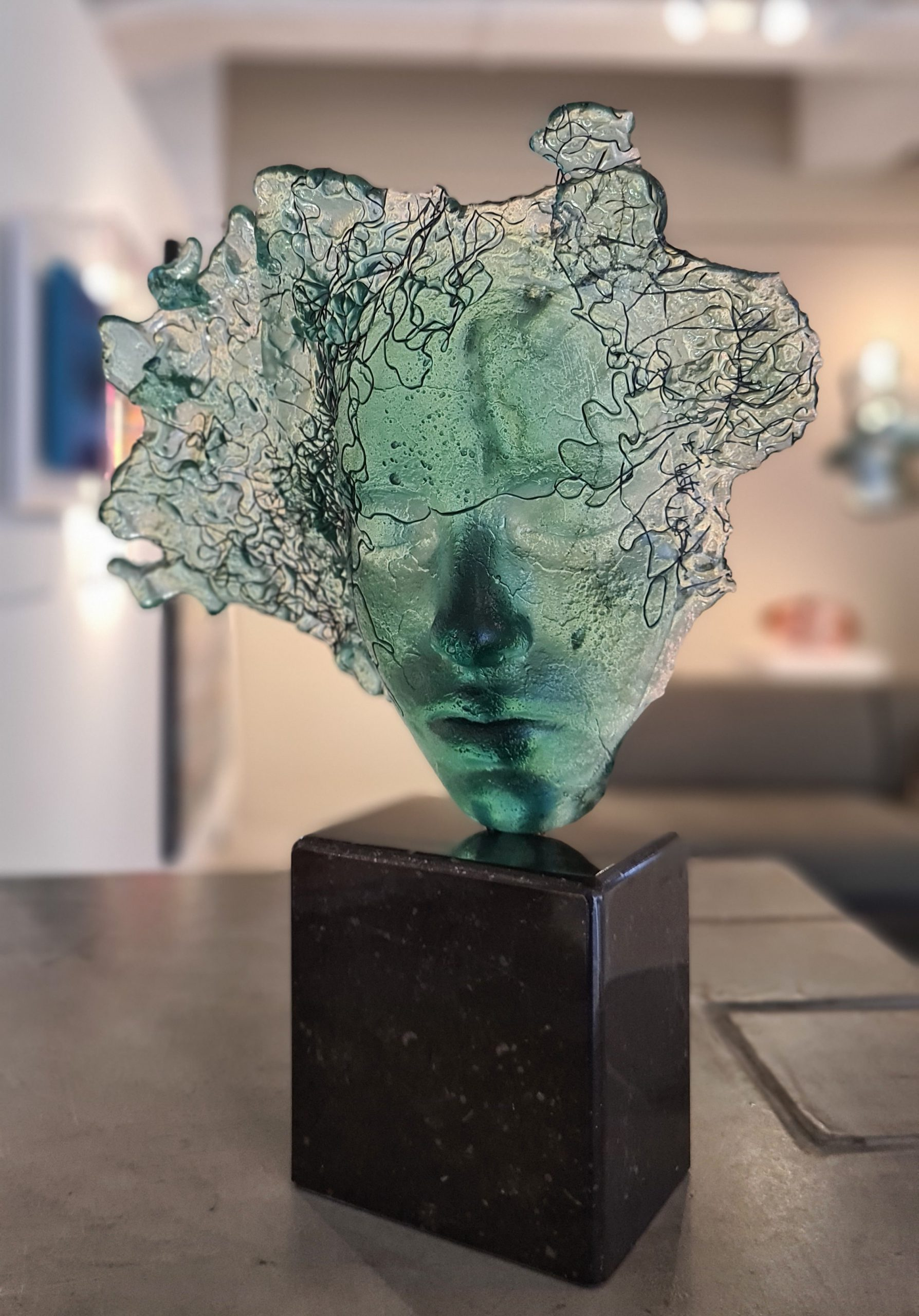 Kunst: Lentegroen van kunstenaar Mari Meszaros
