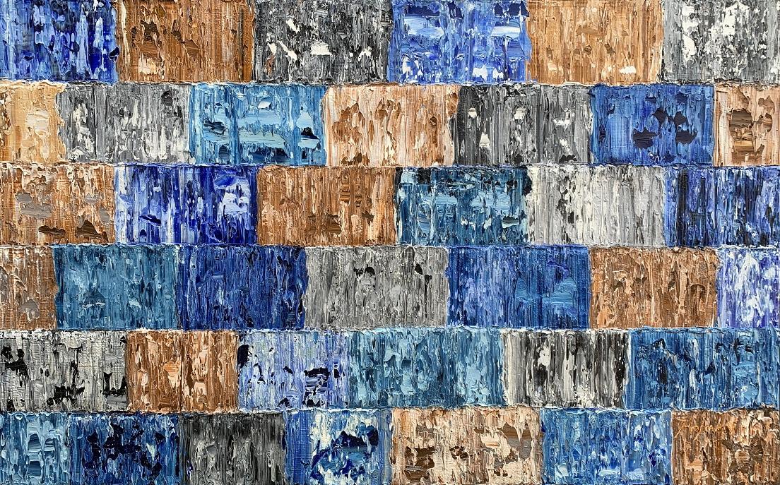 Kunst: Mauke, Pacific van kunstenaar Rinus Hofman