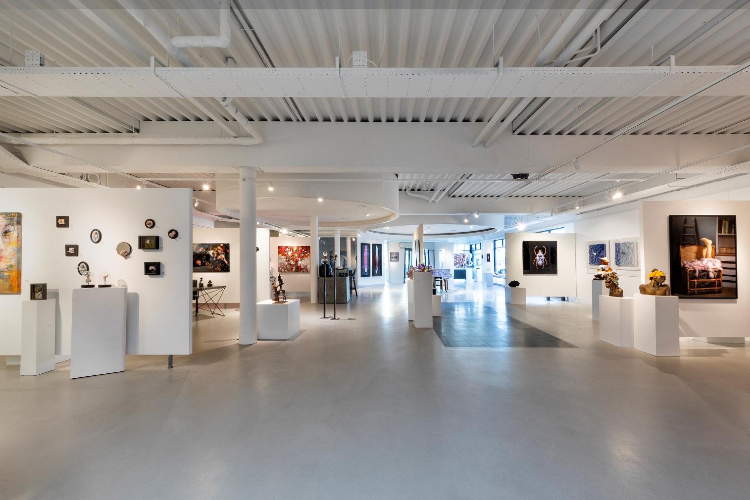 Kunstgalerie bezoeken