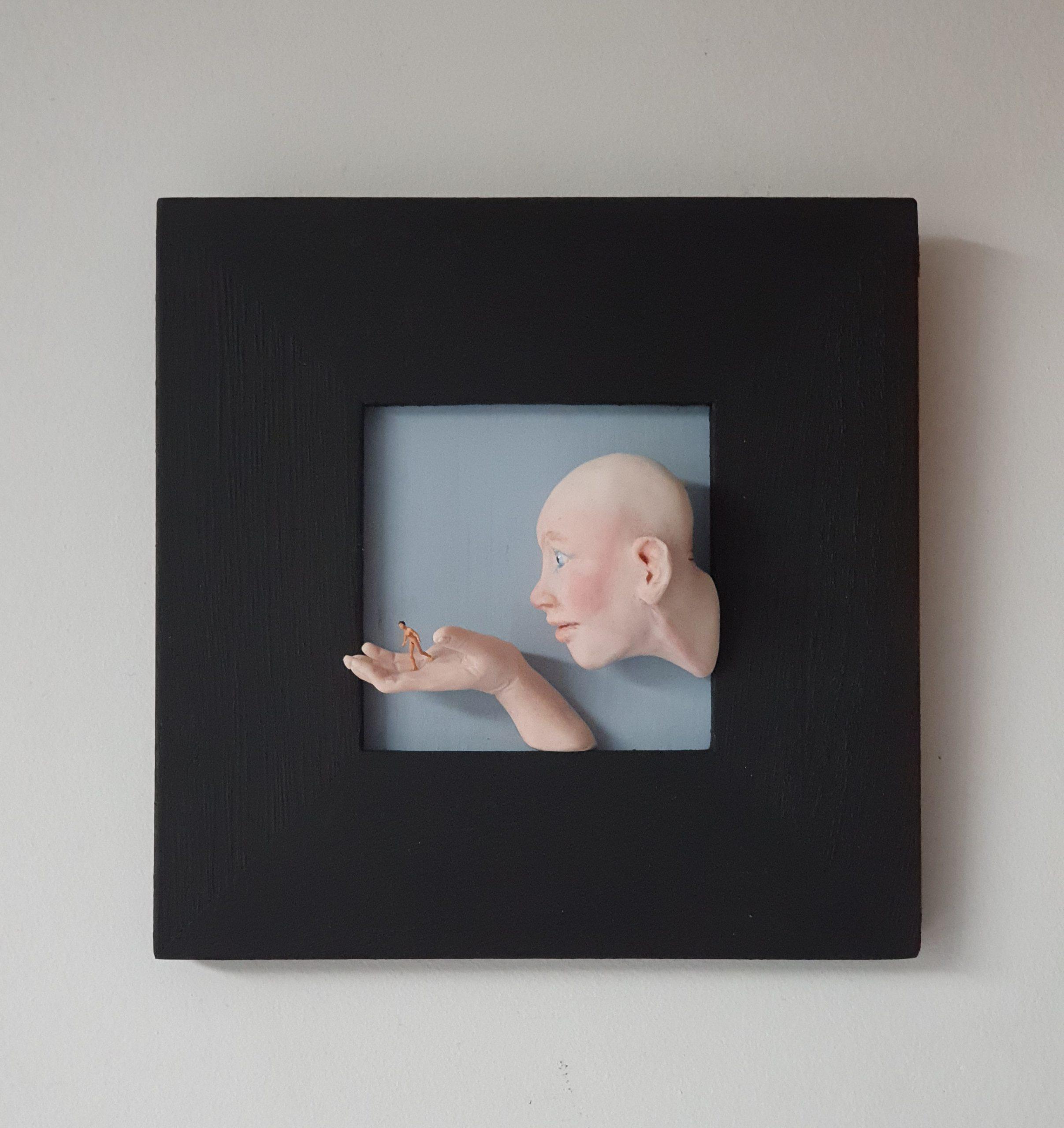 Kunst: 'T loopt uit de hand van kunstenaar Saskia Hoeboer