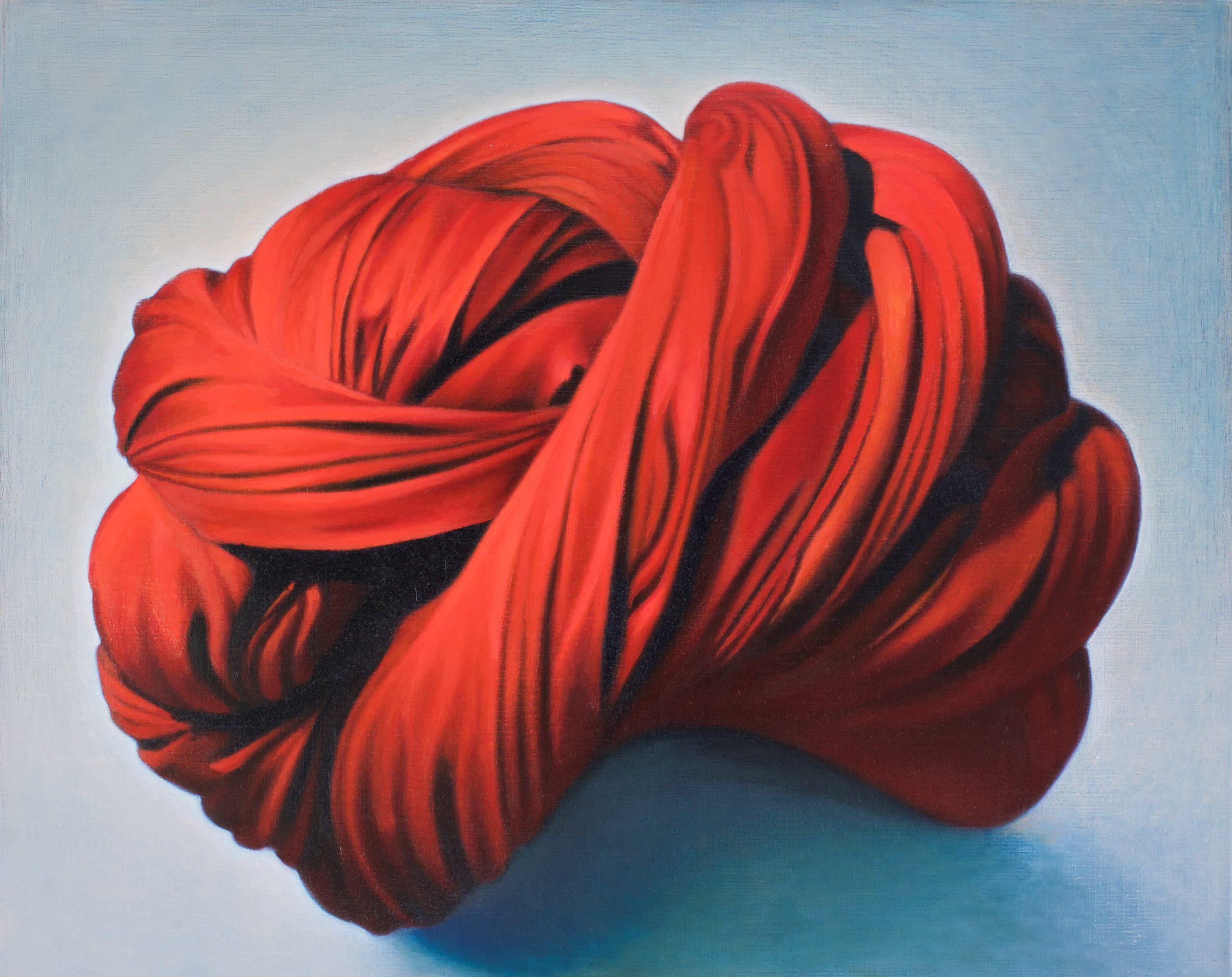 Kunst: all tied up van kunstenaar Leo Wijnhoven