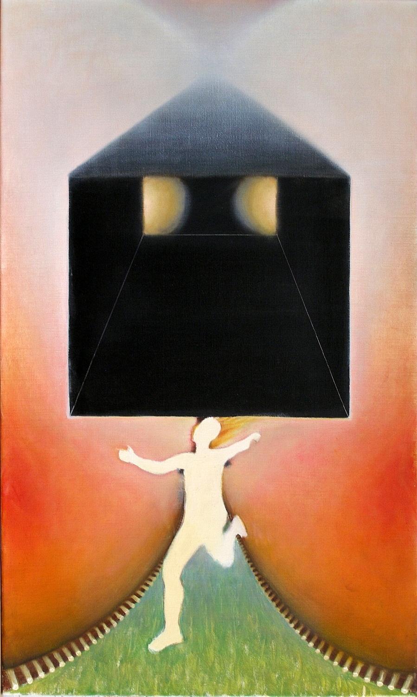 Kunst: black box van kunstenaar Leo Wijnhoven