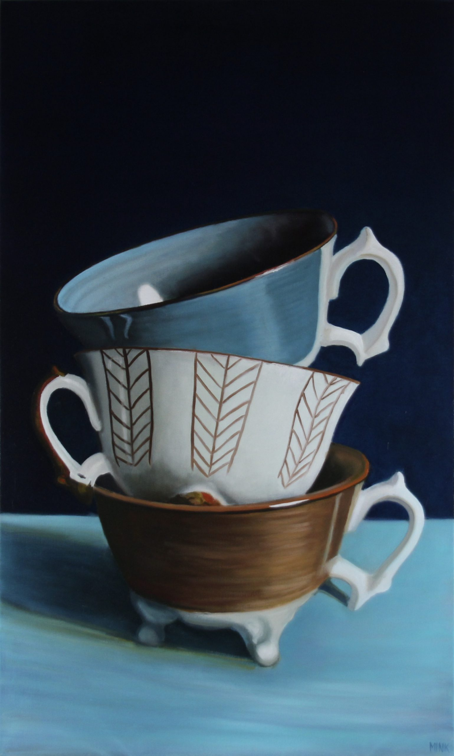 Kunst: Budapest – Stapled Cups van kunstenaar Minke Buikema