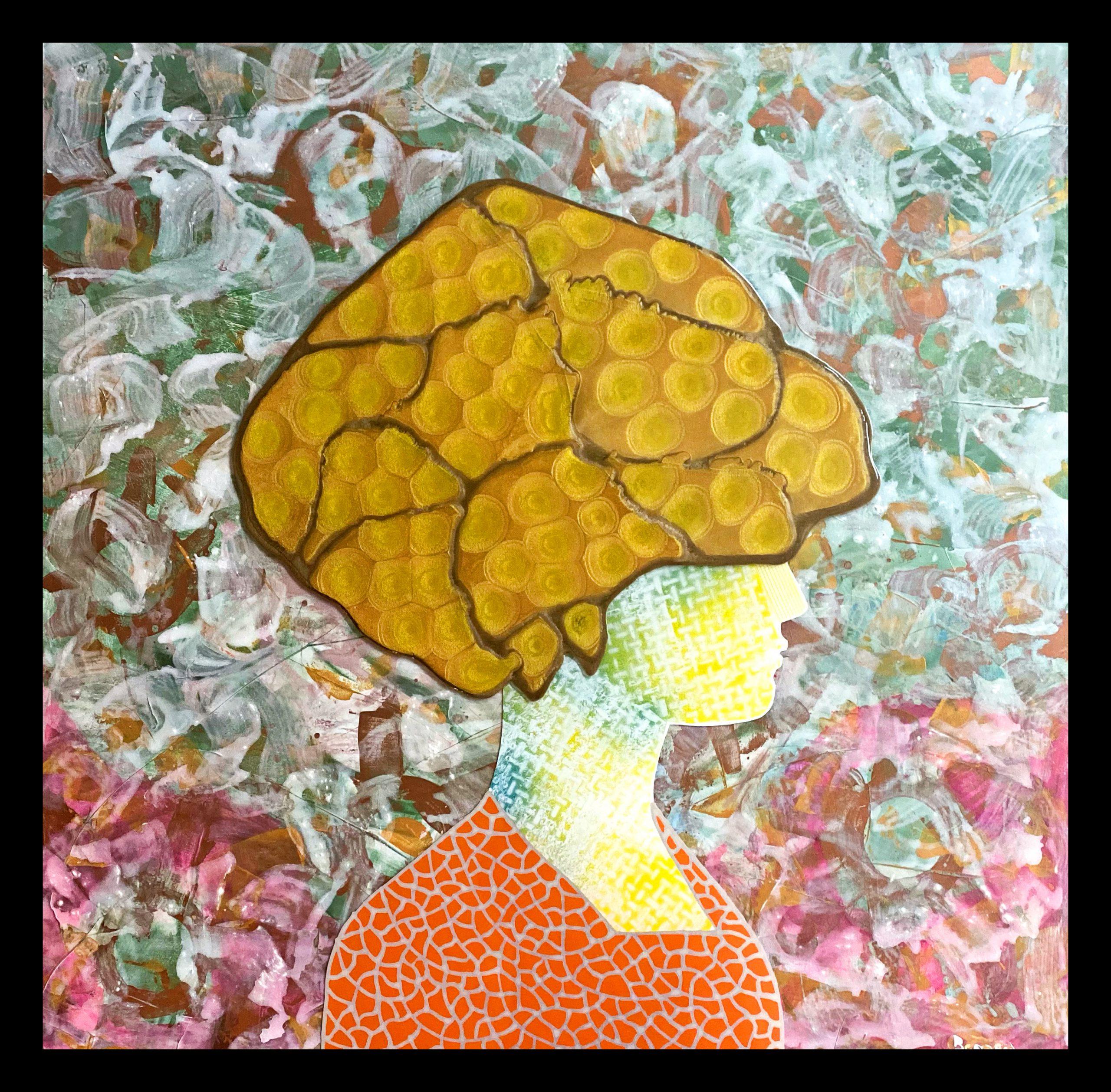 Kunst: Donna Oro van kunstenaar  Beddru