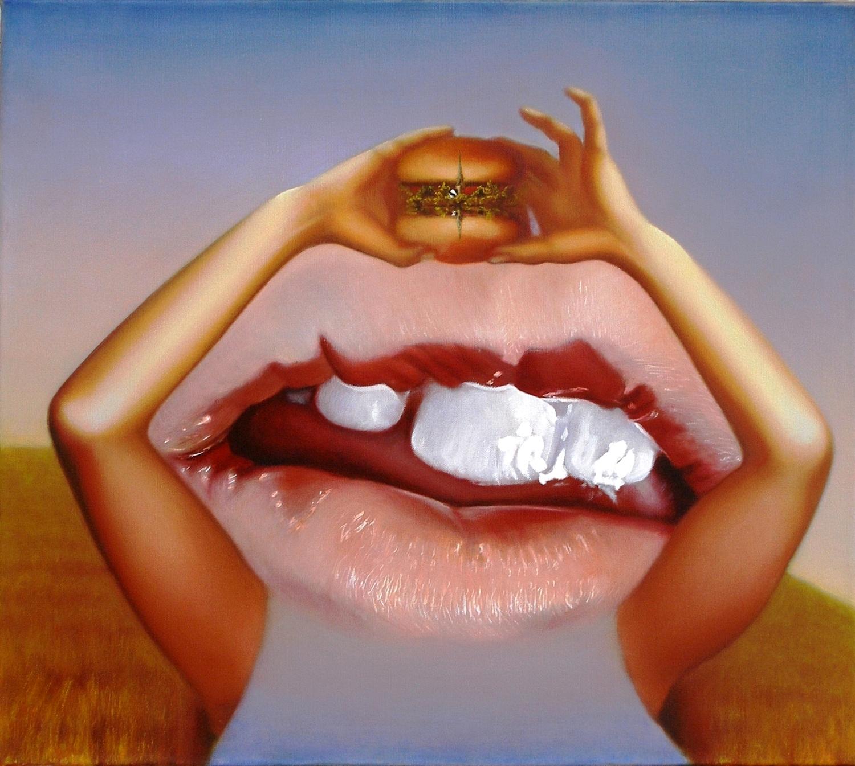 Kunst: eatscape  small van kunstenaar Leo Wijnhoven