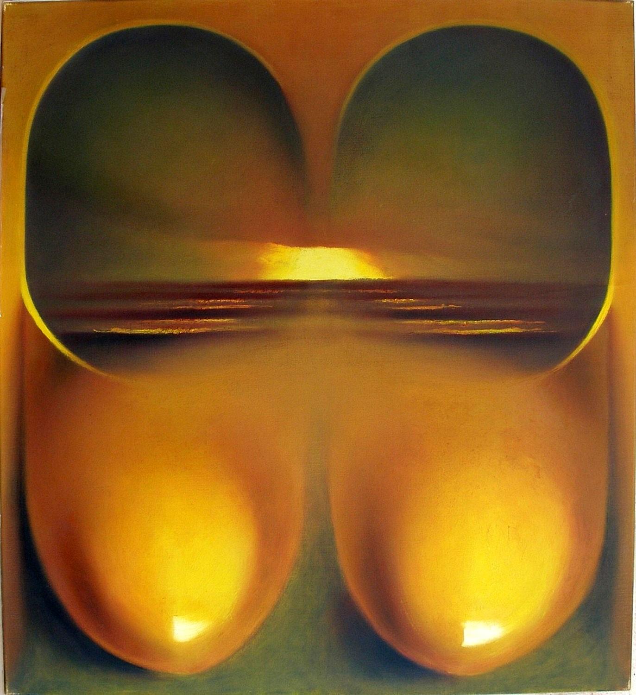 Kunst: h2o IV van kunstenaar Leo Wijnhoven