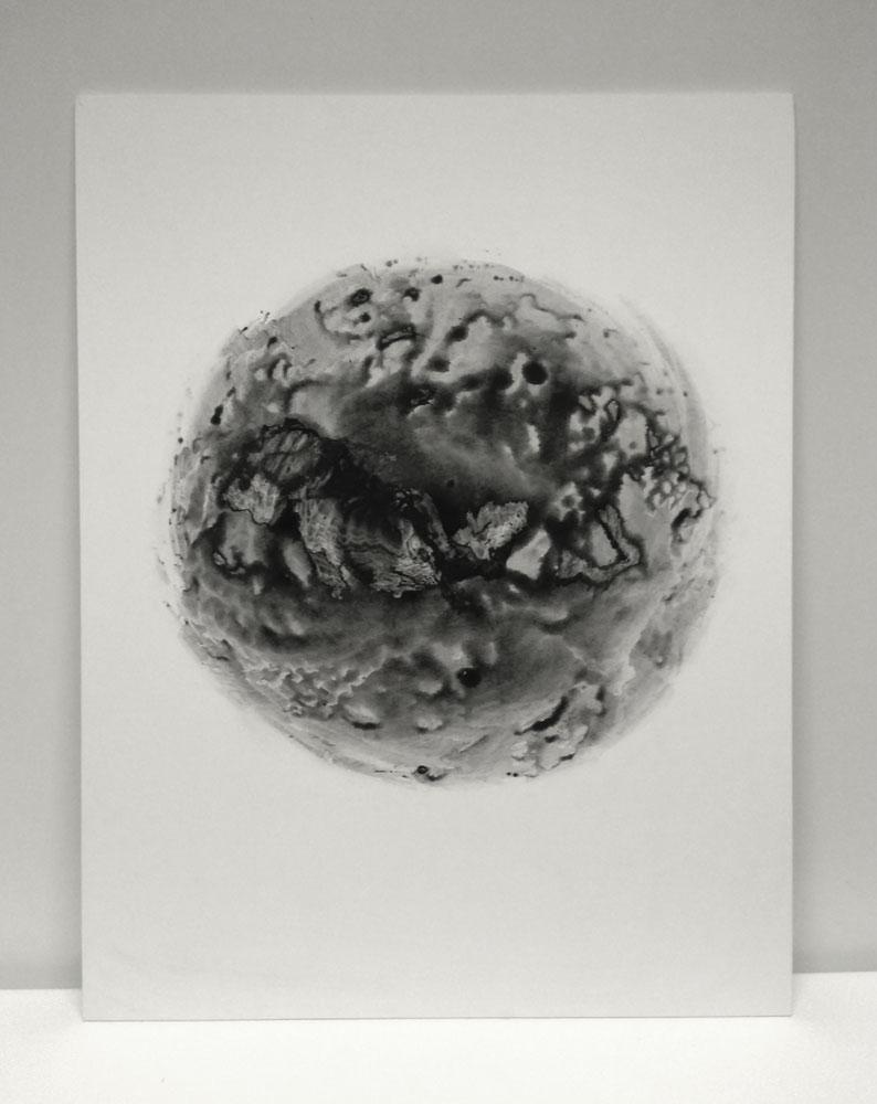 Kunst: Heavenly Body 1 van kunstenaar Kees van der Velden