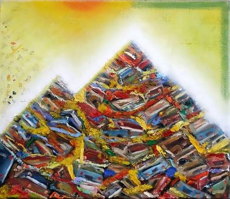 Kunst: modernistische puinhoop van kunstenaar Leo Wijnhoven