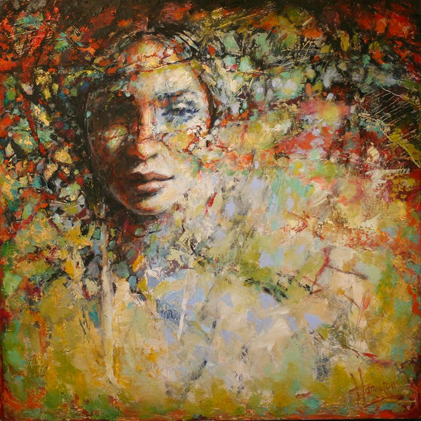 Kunst: Sensations van kunstenaar Evelyn Hamilton