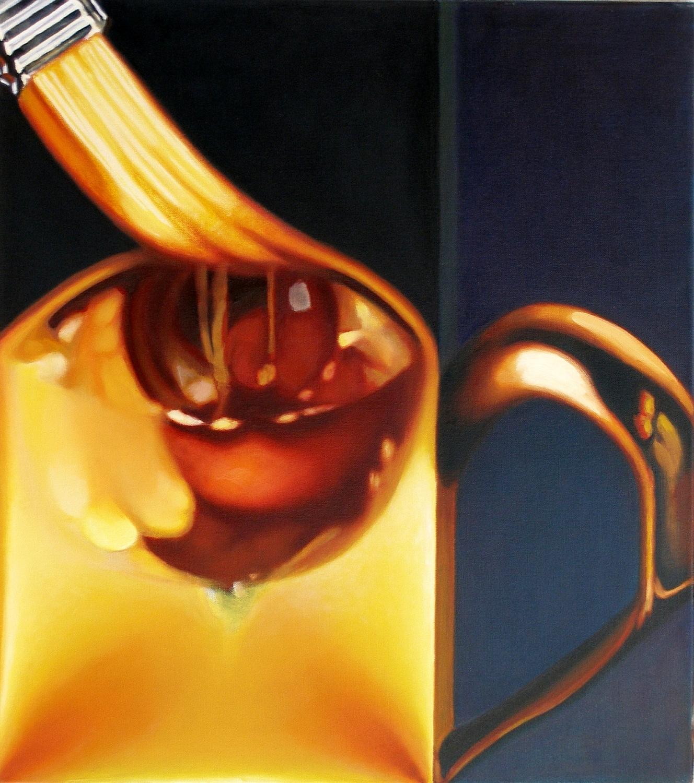 Kunst: spectacles , small cup van kunstenaar Leo Wijnhoven