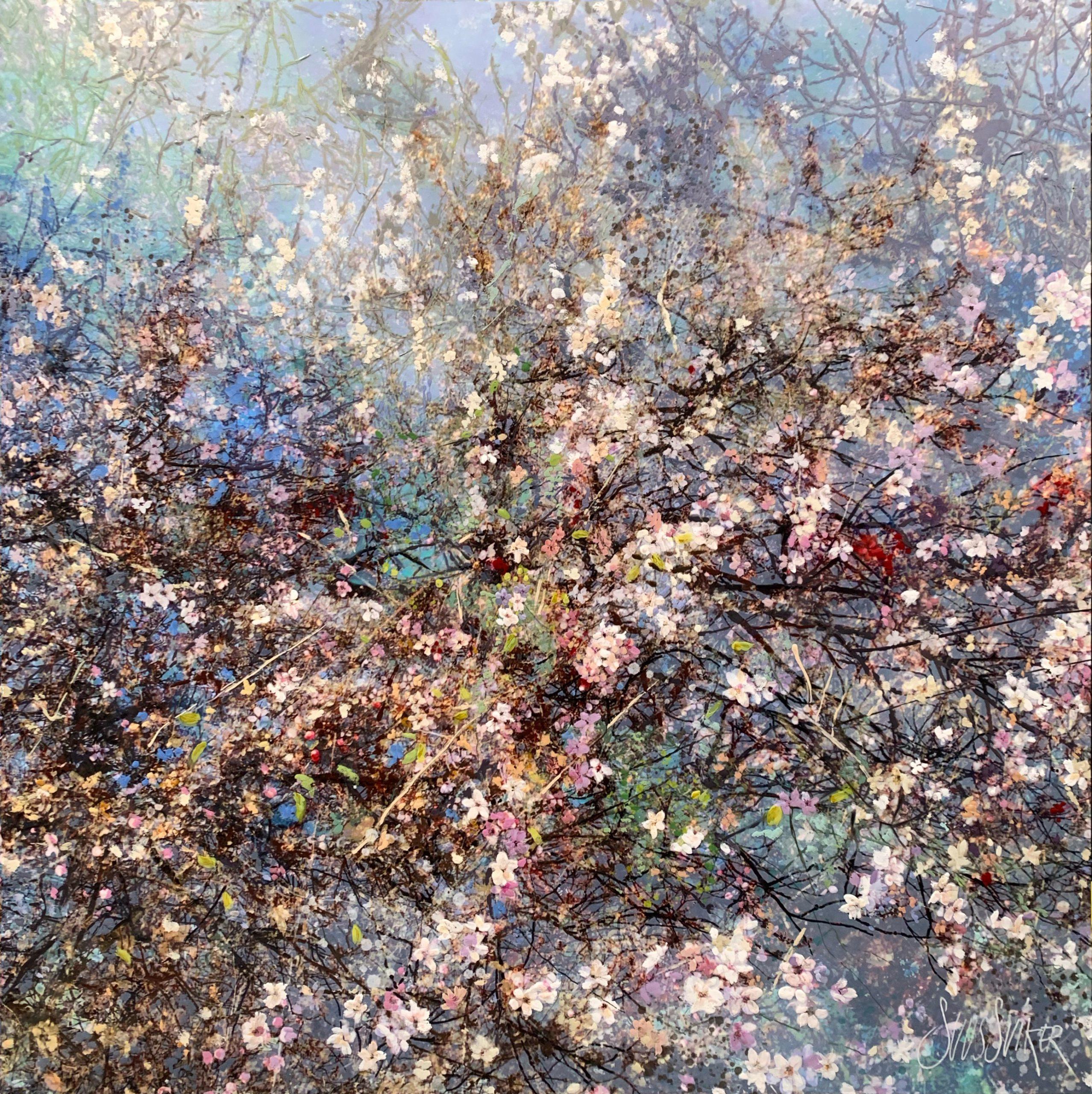 Kunst: Symbiose 120-20 van kunstenaar Suus Suiker
