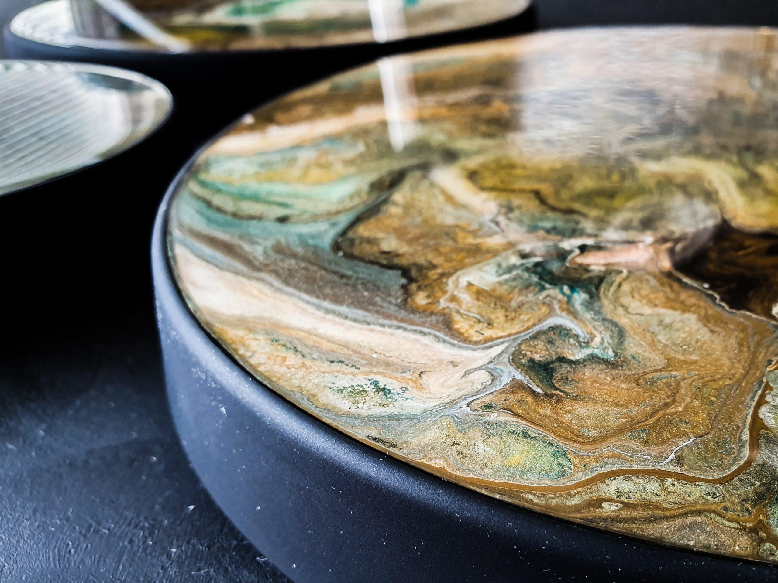 Kunst: Touch of gold van kunstenaar Marlies Geldof
