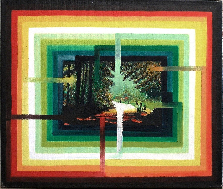 Kunst: urge to mean anything II van kunstenaar Leo Wijnhoven