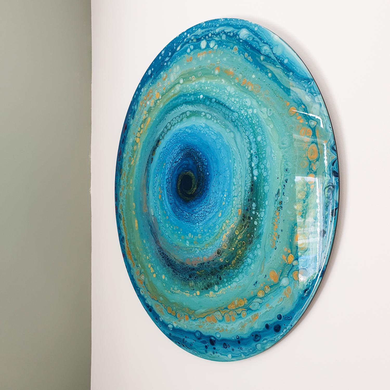 Kunst: Wave of joy 2 van kunstenaar Marlies Geldof