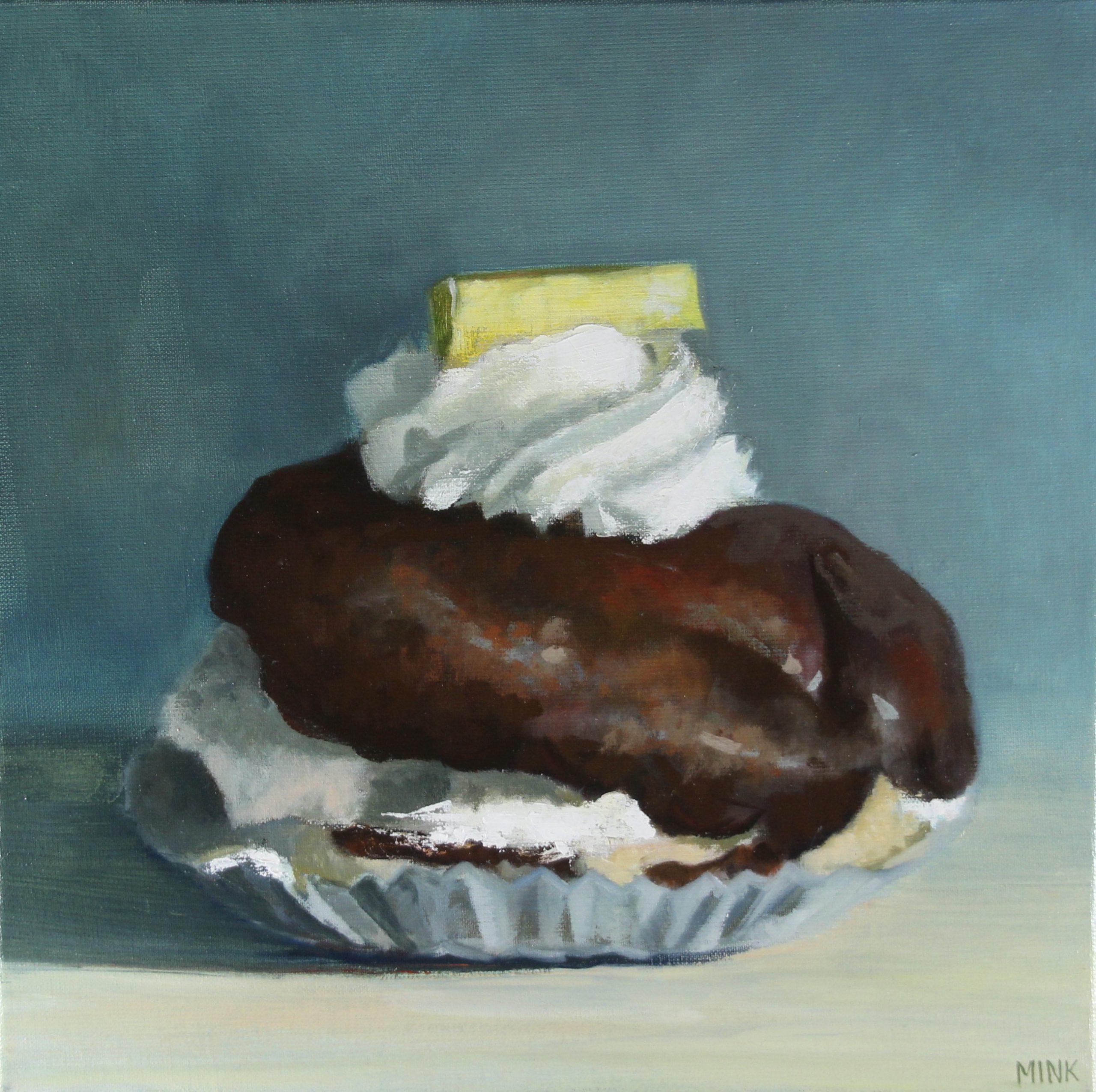 Kunst: Woerden – Delicious Cream Puff van kunstenaar Minke Buikema