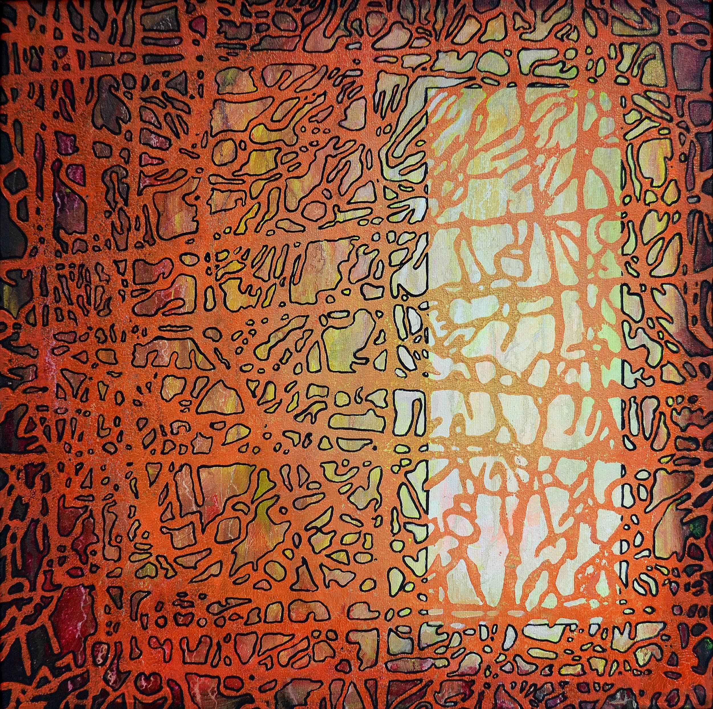 Kunst: Z 2020 15 van kunstenaar Martin Copier