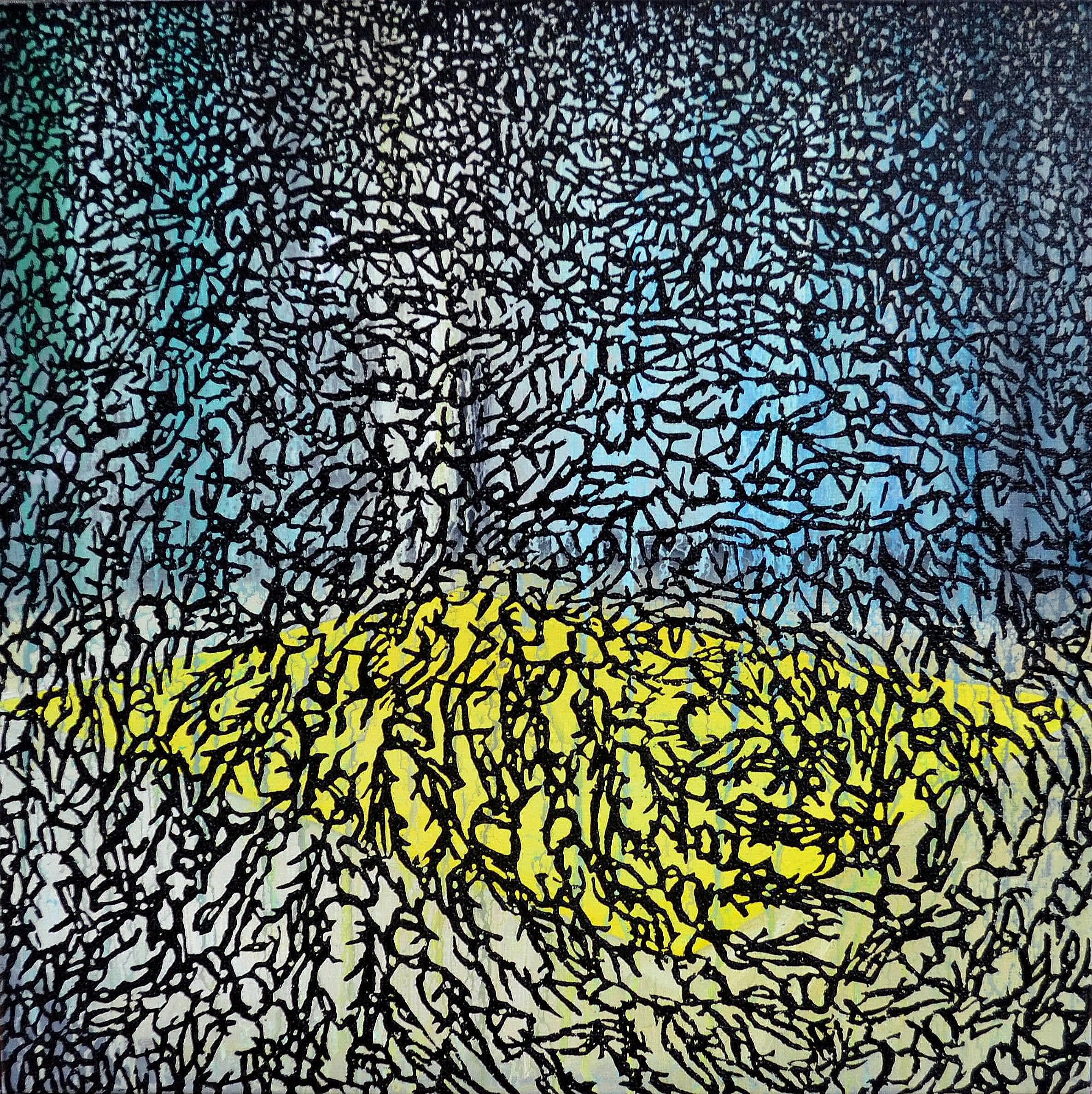 Kunst: Z 2020 36 van kunstenaar Martin Copier
