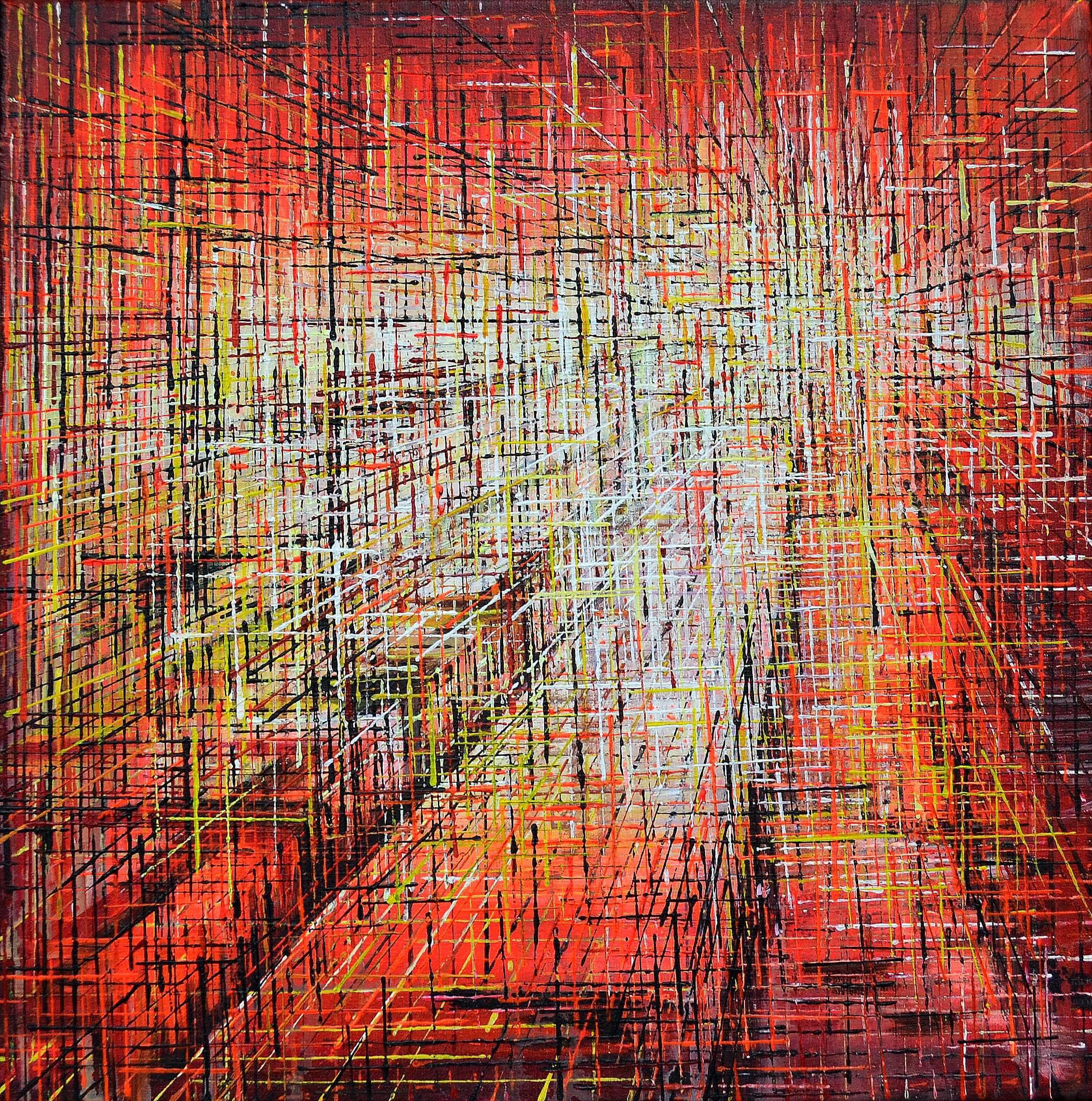 Kunst: Z 2020 76 van kunstenaar Martin Copier