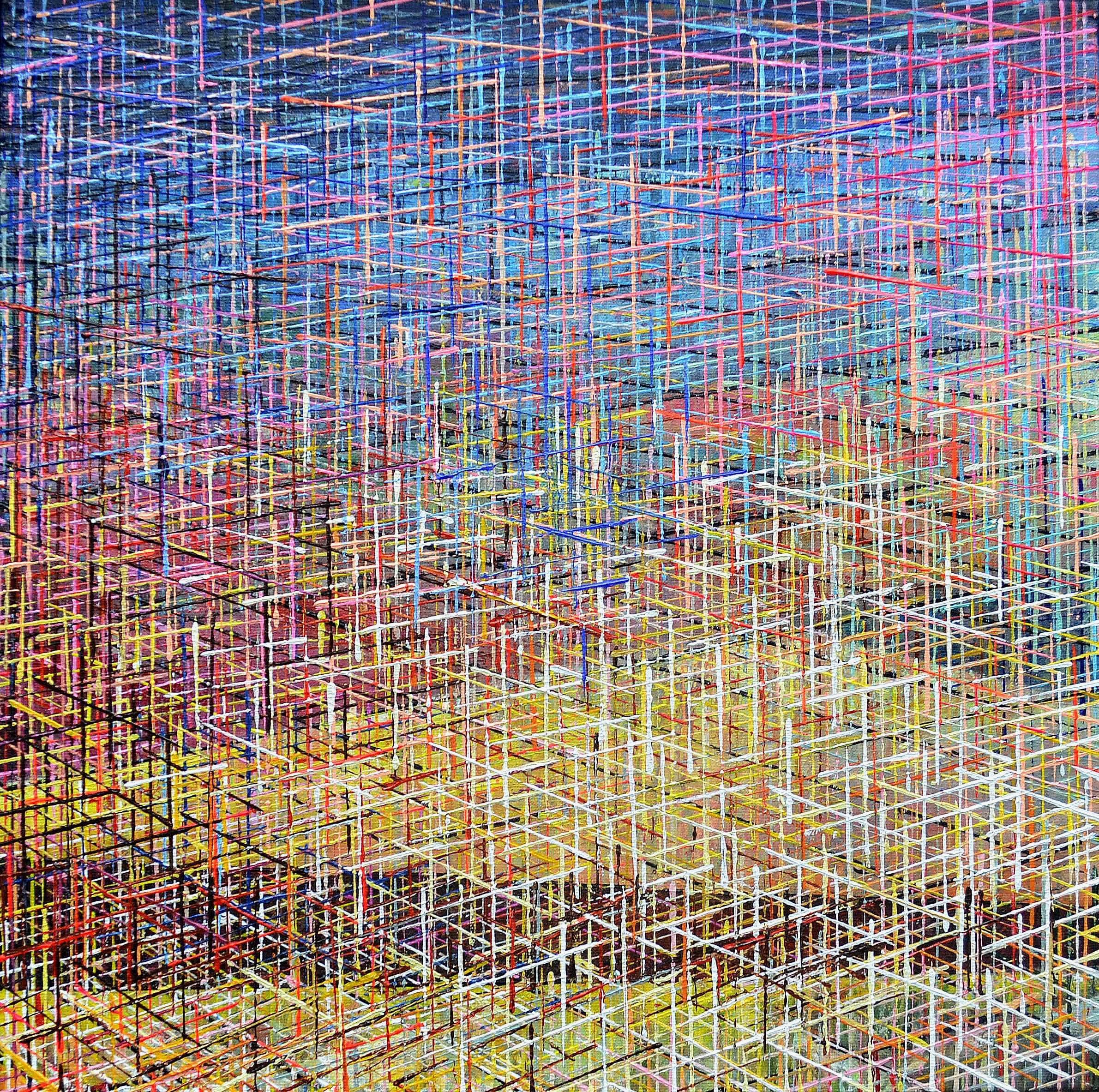 Kunst: Z 2020 80 van kunstenaar Martin Copier