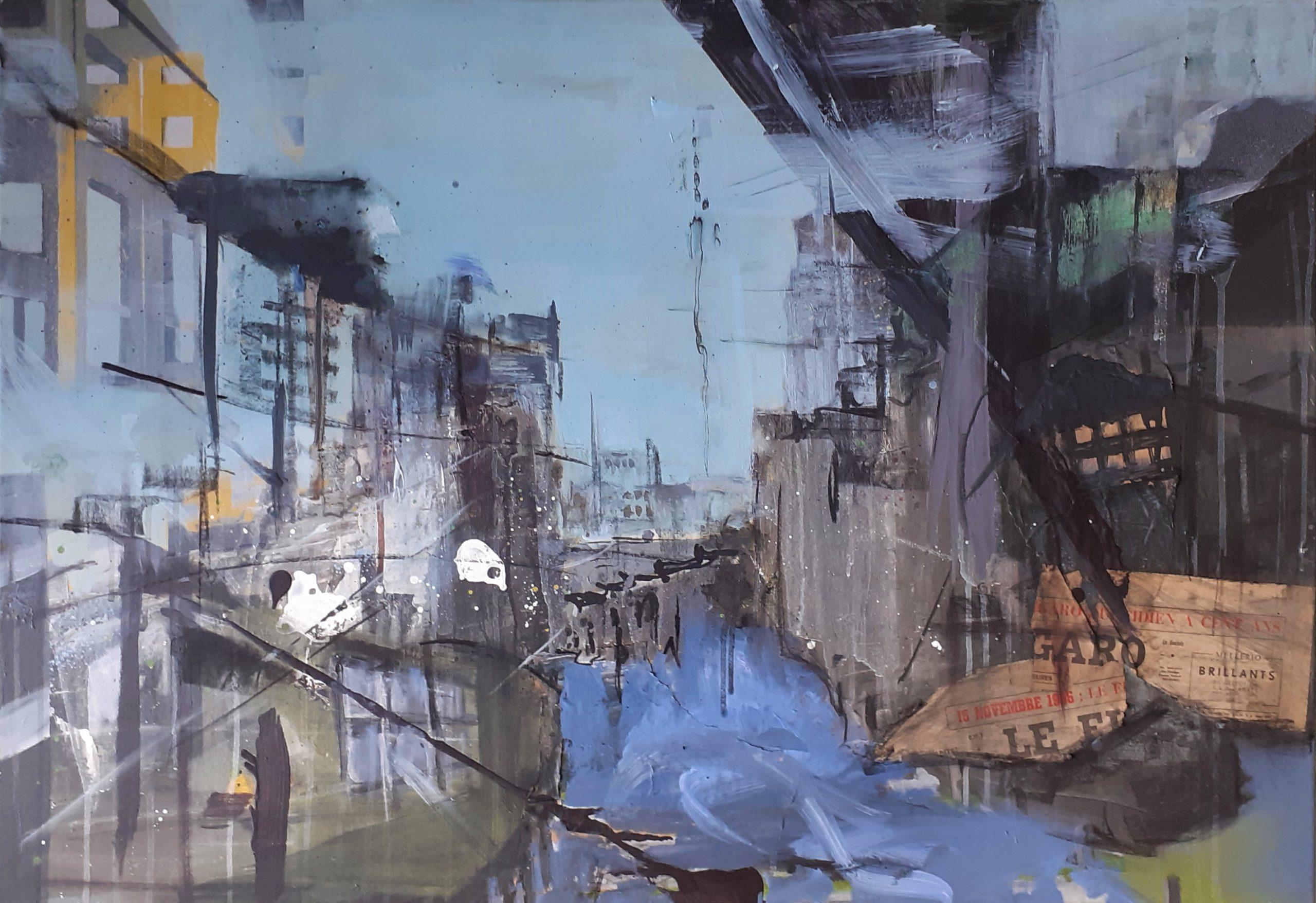 Kunst: 2sides up van kunstenaar Anneke Koster