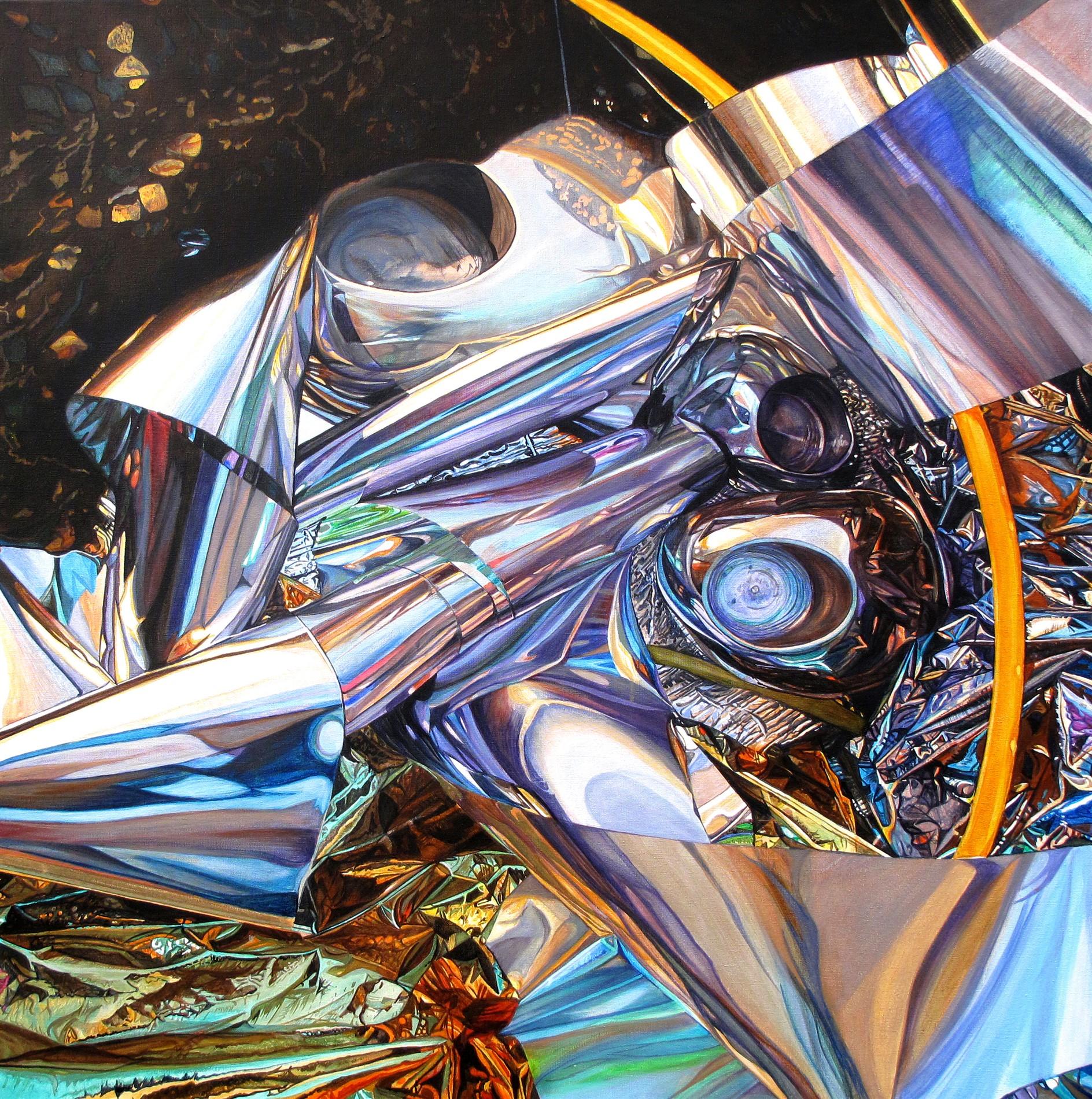 Kunst: Chromium Crush van kunstenaar Lidy Scholten