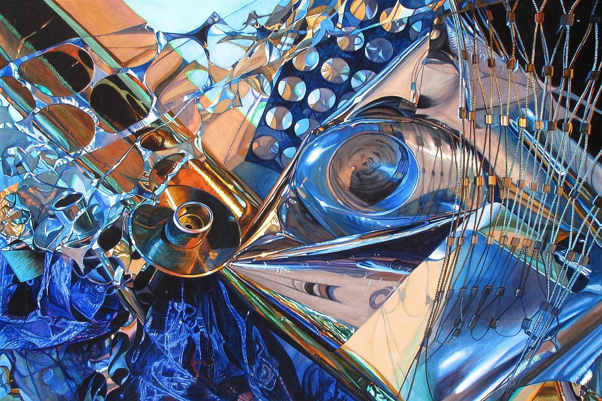 Kunst: Deceptive Disorder van kunstenaar Lidy Scholten