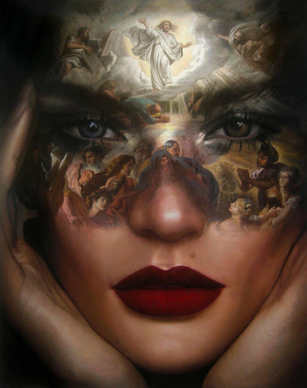 Kunst: Devotion van kunstenaar Frank E Hollywood