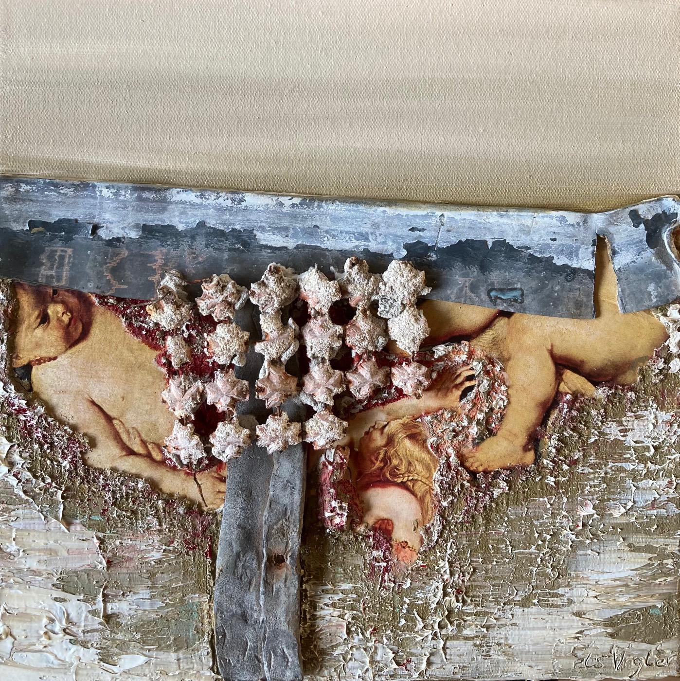 Kunst: Fragments of Rubens III van kunstenaar Els Vegter