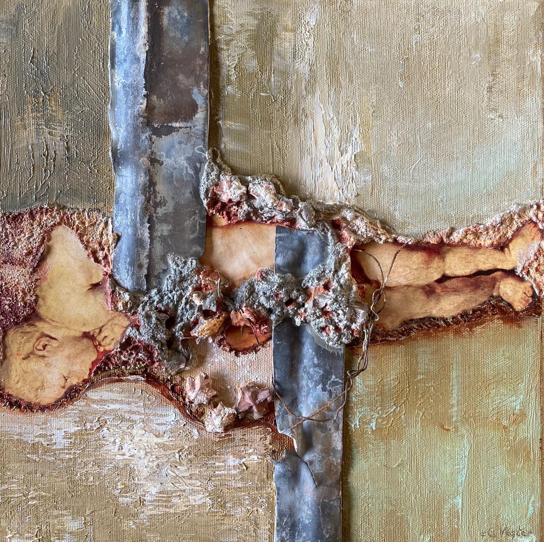 Kunst: Fragments of Rubens IV van kunstenaar Els Vegter
