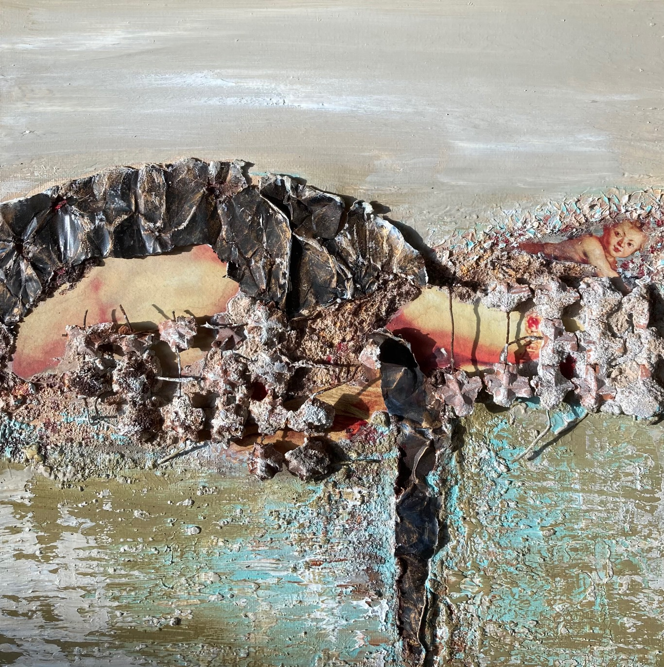 Kunst: Fragments of Rubens V van kunstenaar Els Vegter
