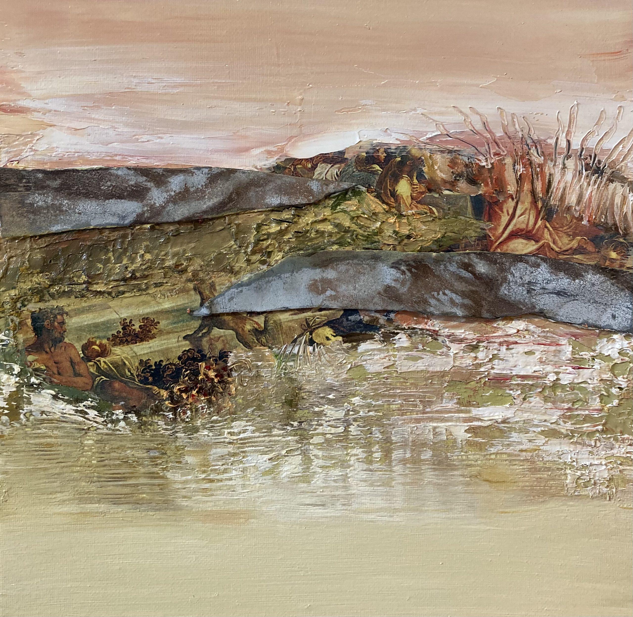 Kunst: Fragments of Tintoretto van kunstenaar Els Vegter