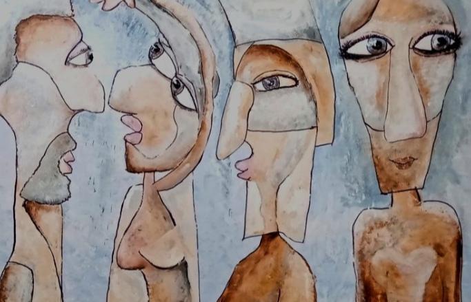 Kunst: Friends van kunstenaar Carla Broeckx