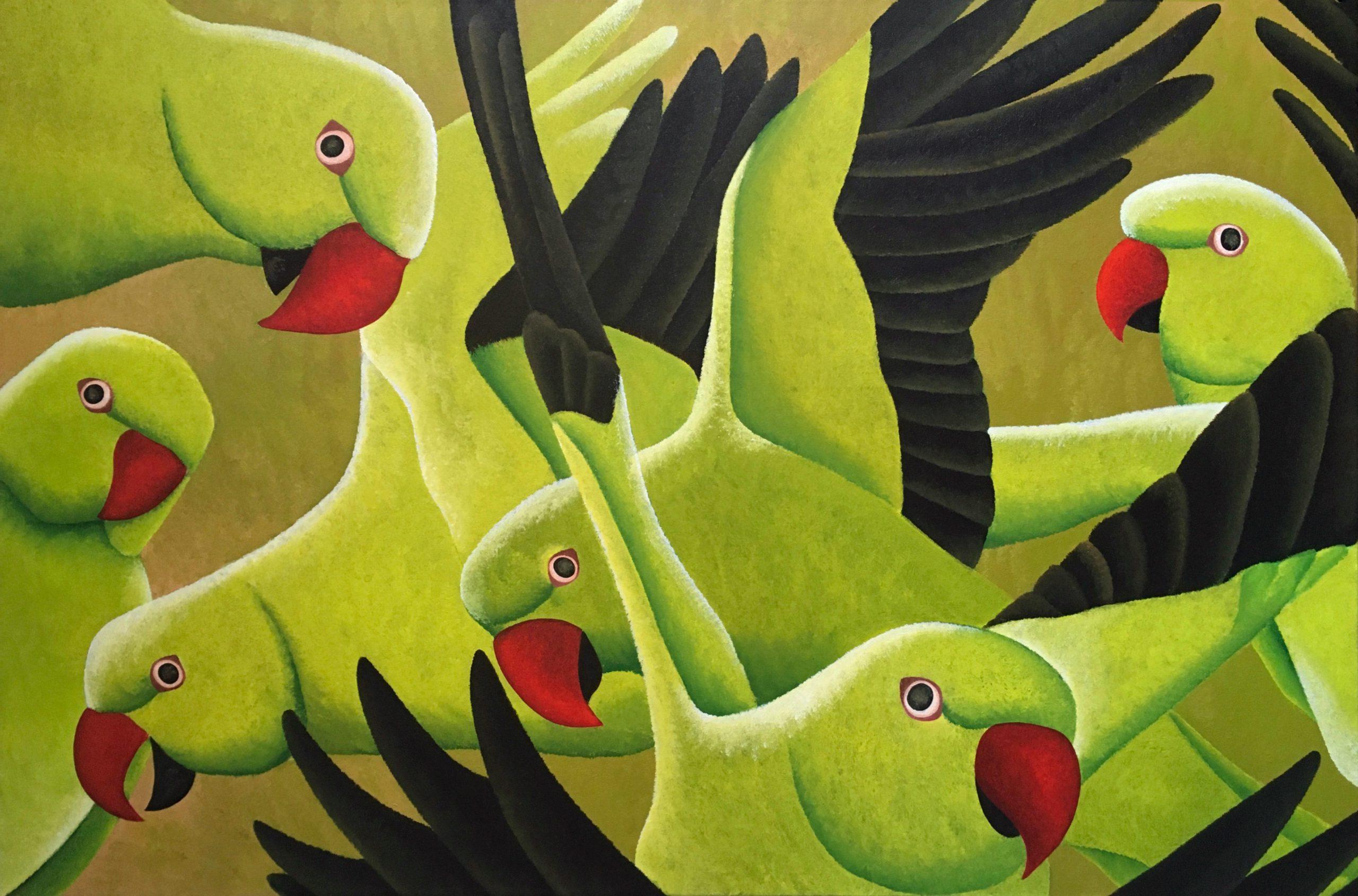 Kunst: Groenen van kunstenaar Yvonne Zomerdijk