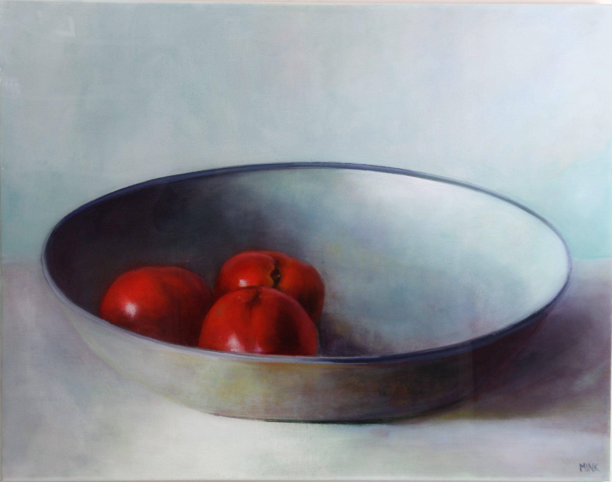 Kunst: Kiev – Fruit Plate Liquid Gloss van kunstenaar Minke Buikema