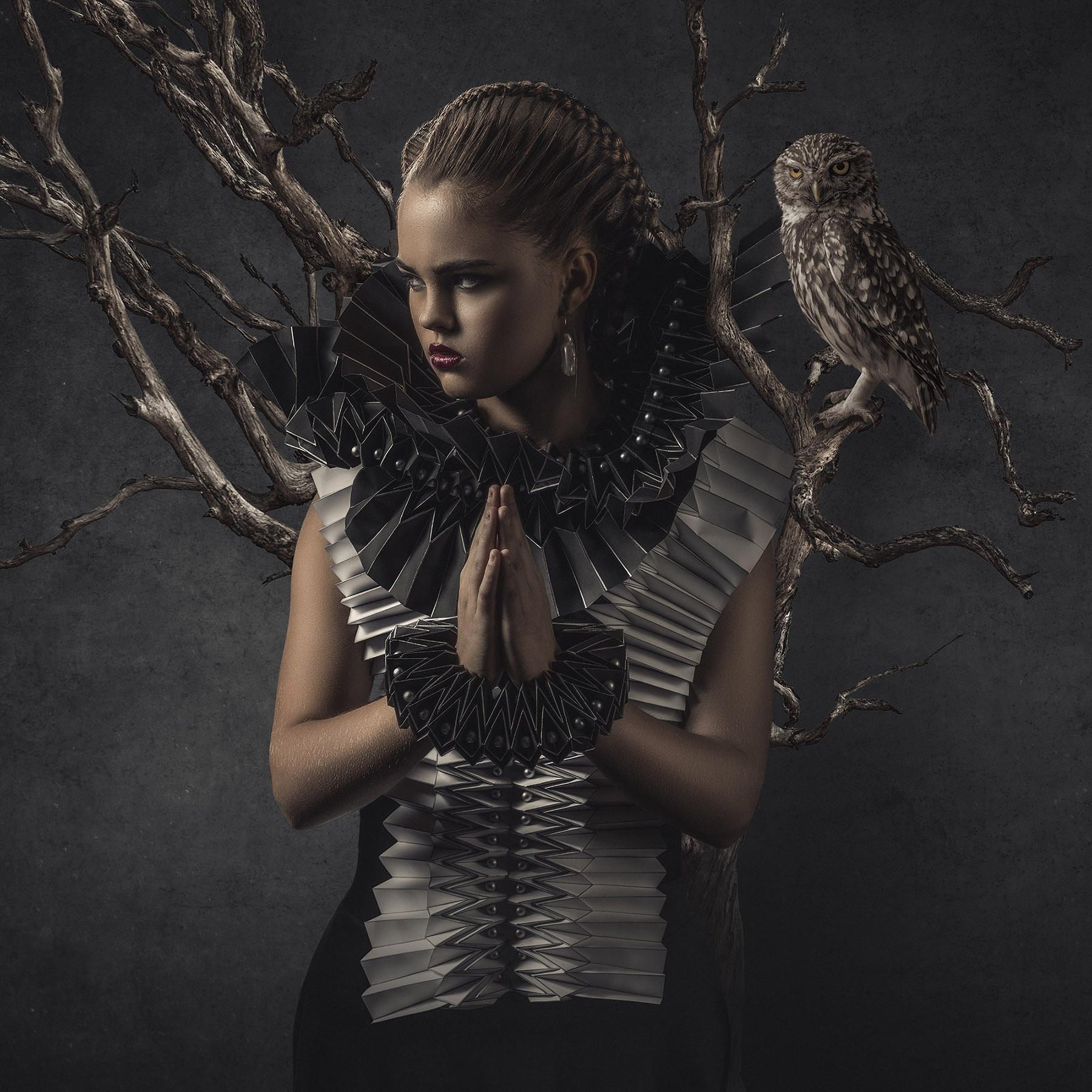 Kunst: Pray for Wisdom van kunstenaar Gert Kist