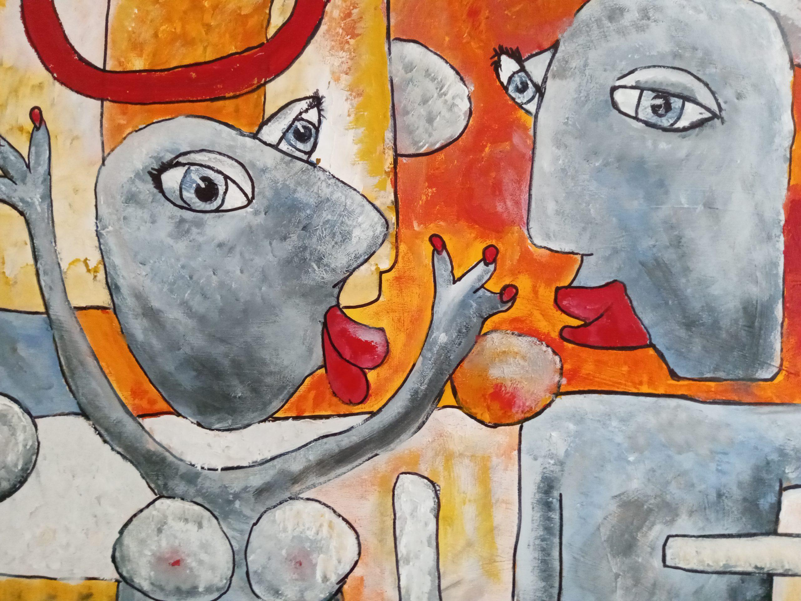 Kunst: Samen plezier maken van kunstenaar Carla Broeckx