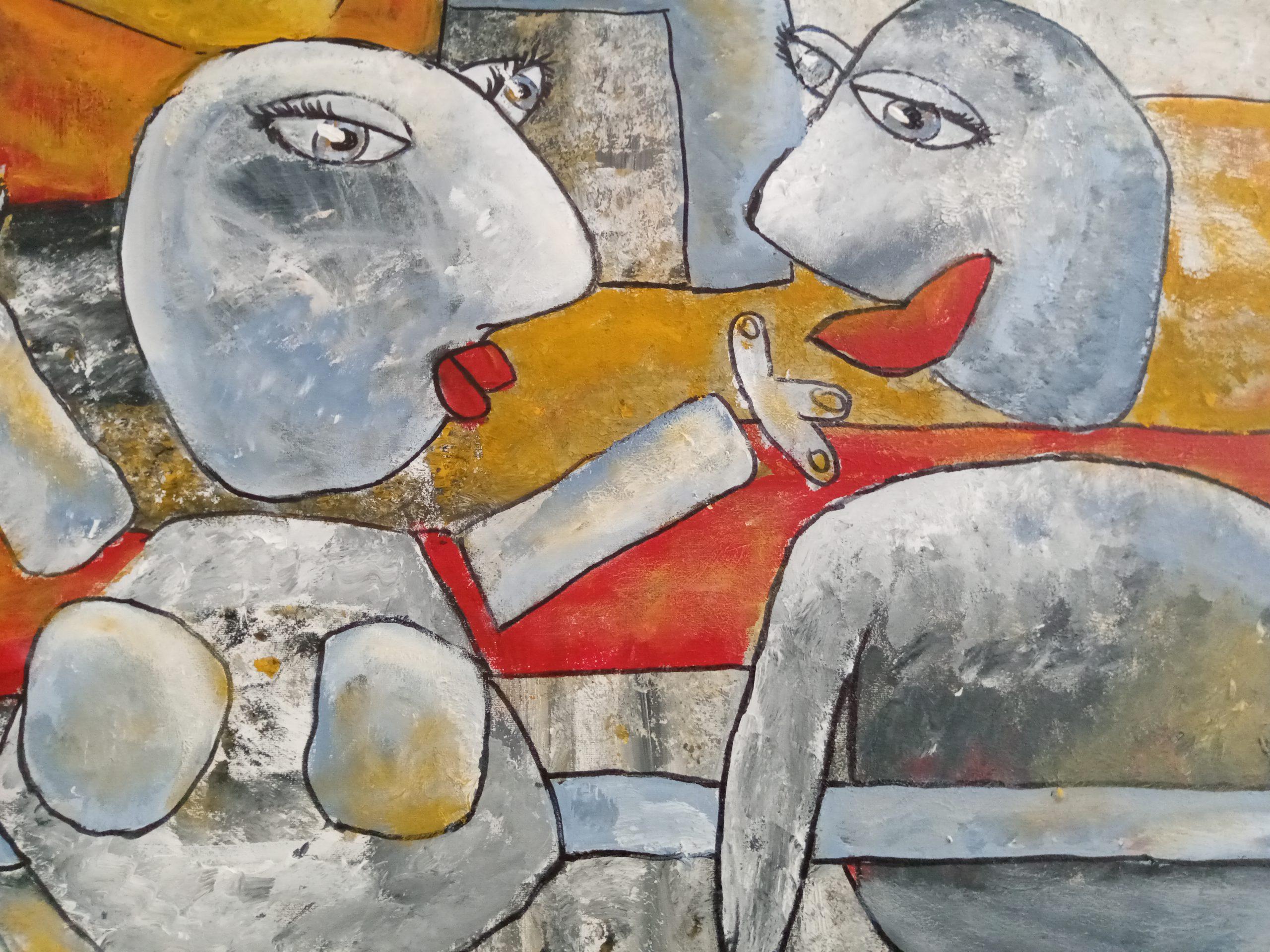 Kunst: Samen zijn van kunstenaar Carla Broeckx