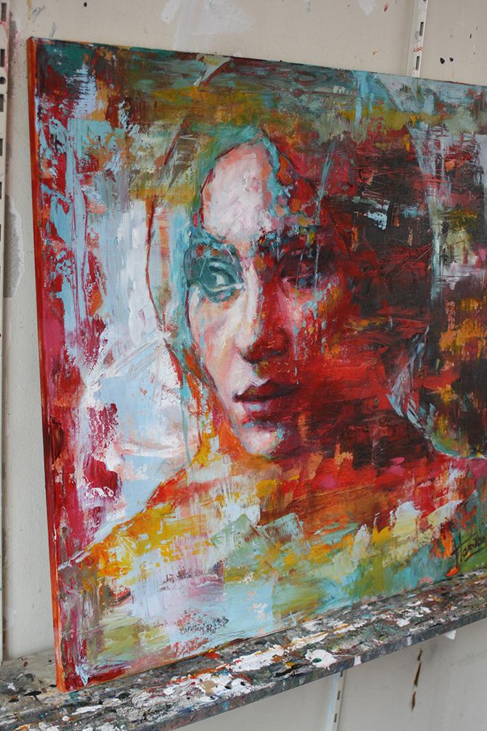 Kunst: True colors van kunstenaar Evelyn Hamilton