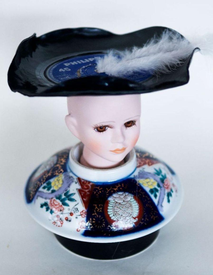 Zomerexpositie draai doll