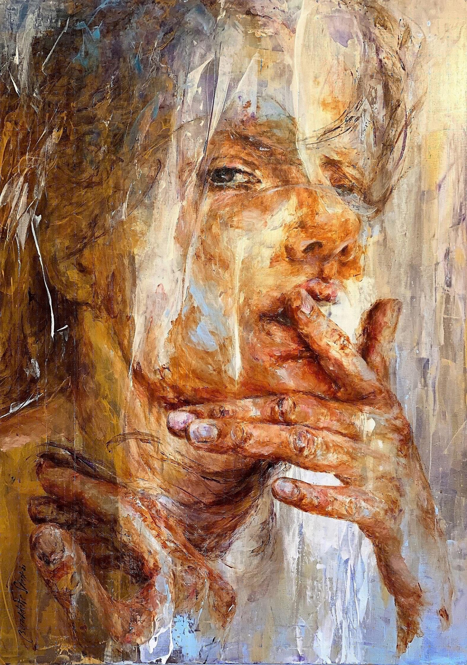 Kunst: Always Try to be True to Yourself van kunstenaar Bernadette Sterk