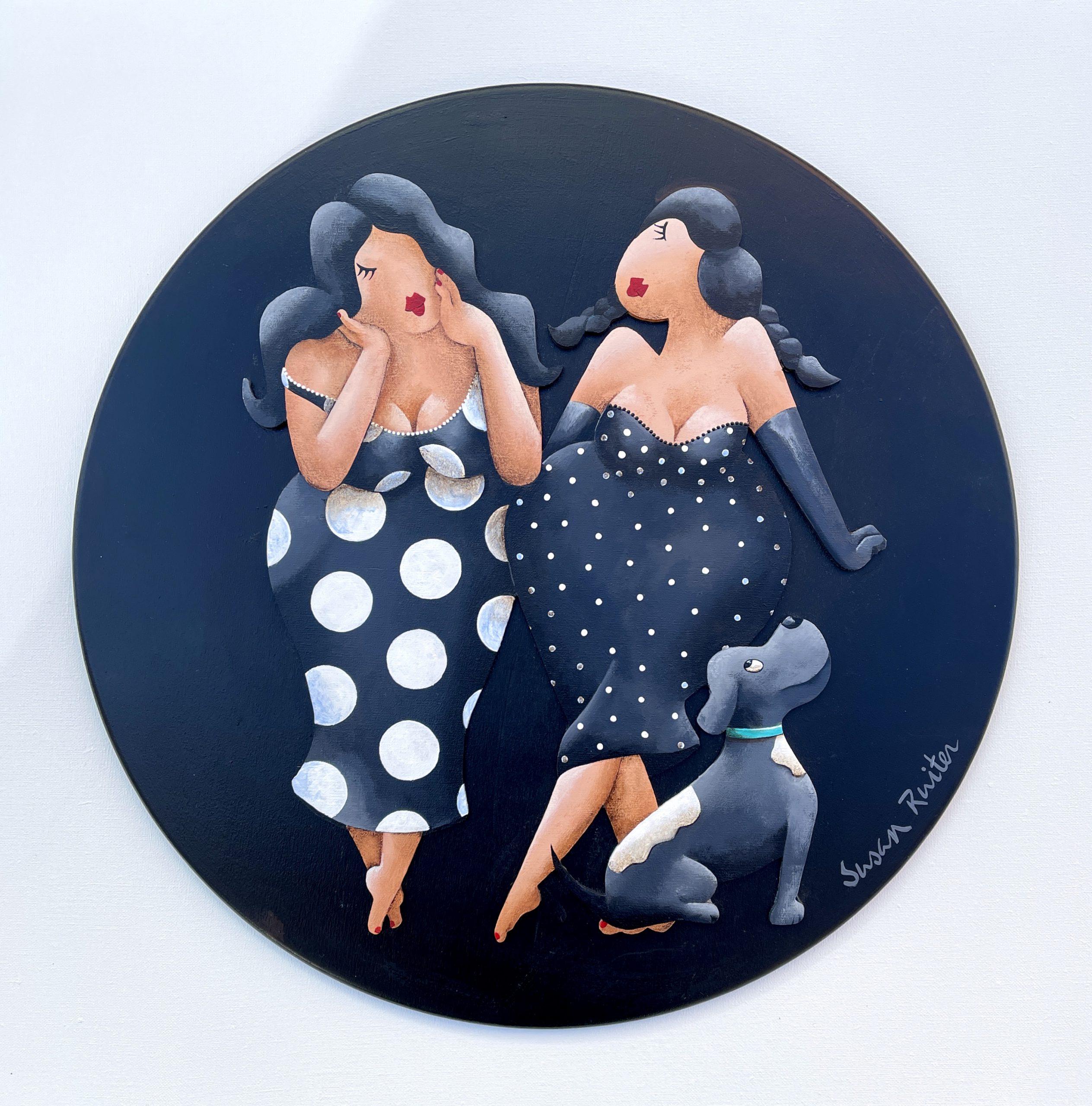 Kunst: Black & White van kunstenaar Susan Ruiter