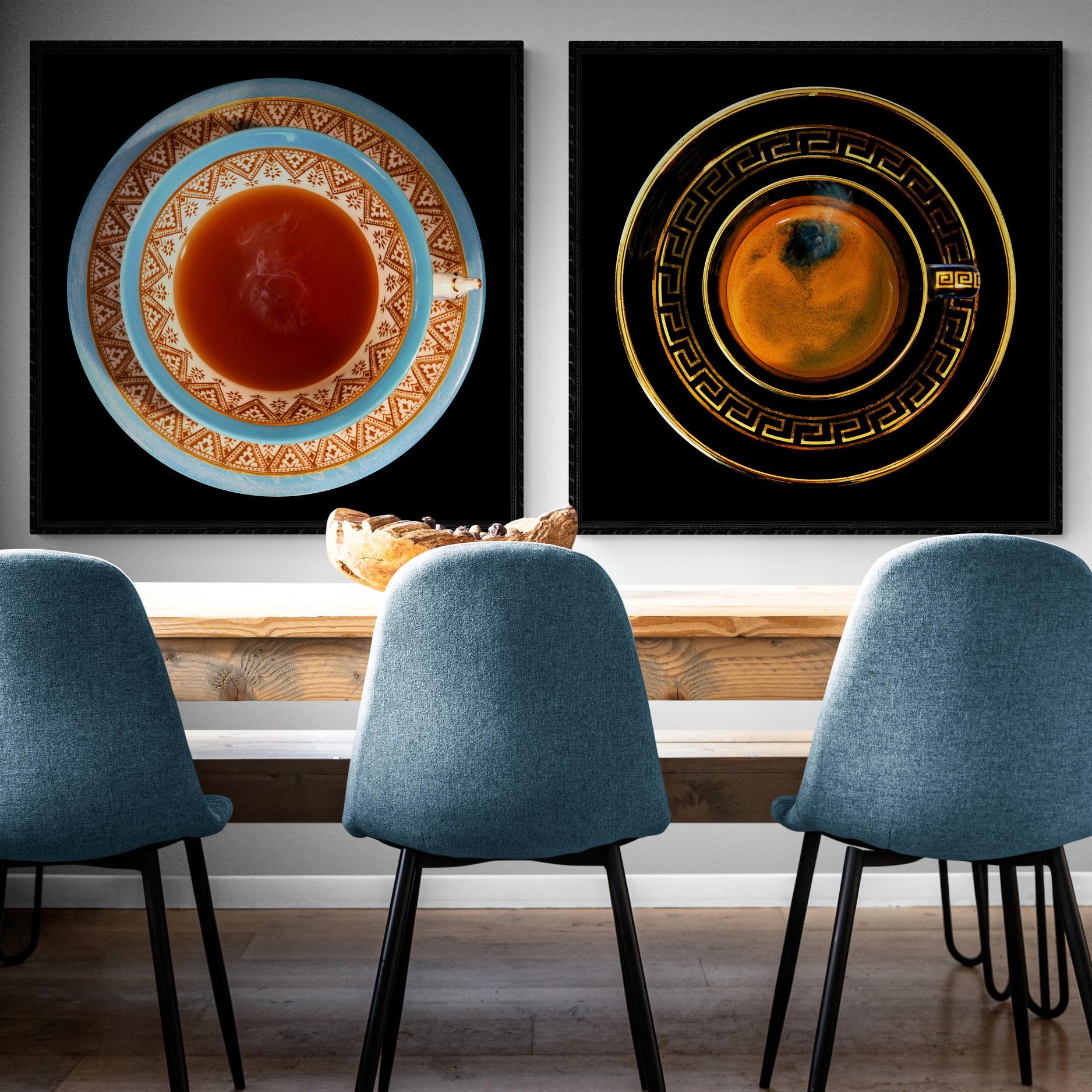 Kunst: COFFEE & TEA van kunstenaar Anouk van Tetering (Anoukart)