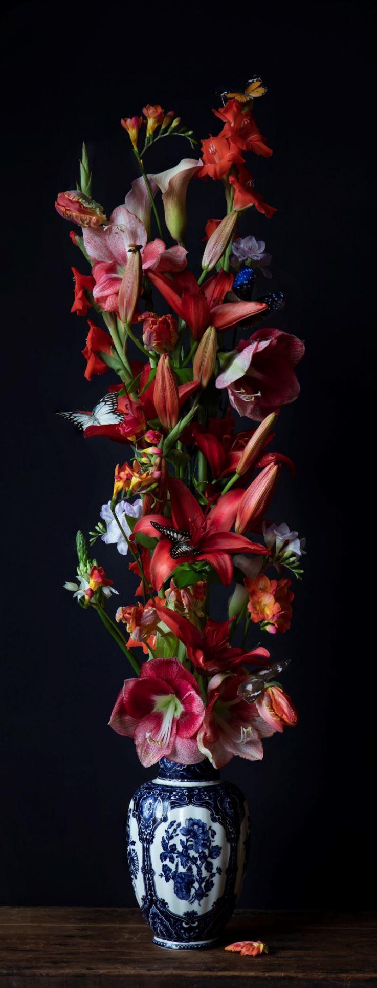 Kunst: Flowers #17 van kunstenaar Iris Gonzalez