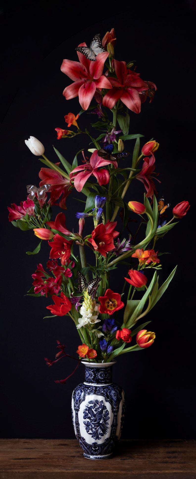 Kunst: Flowers #18 van kunstenaar Iris Gonzalez