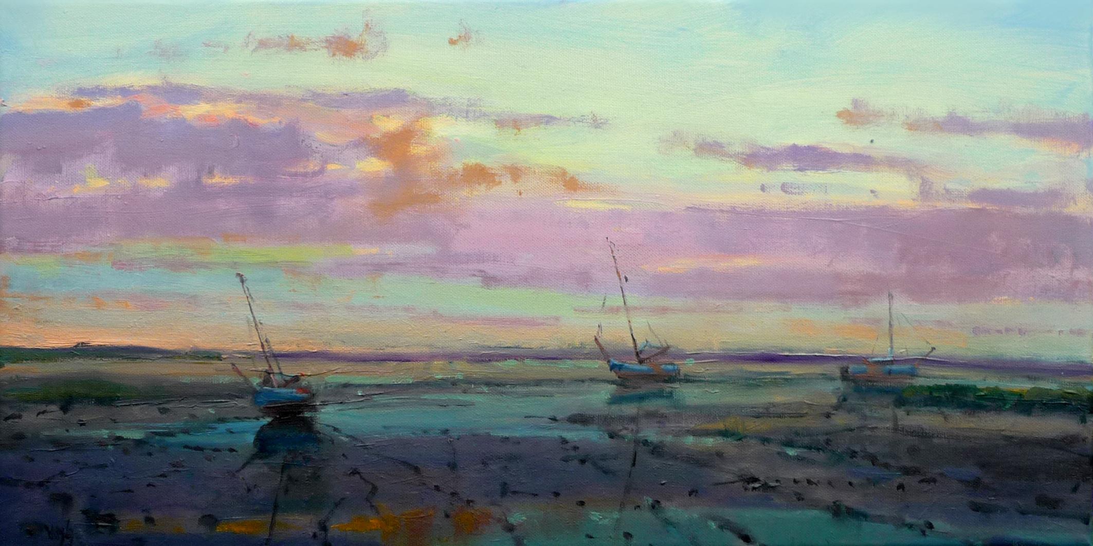 Kunst: lavendel van kunstenaar Cees Vegh