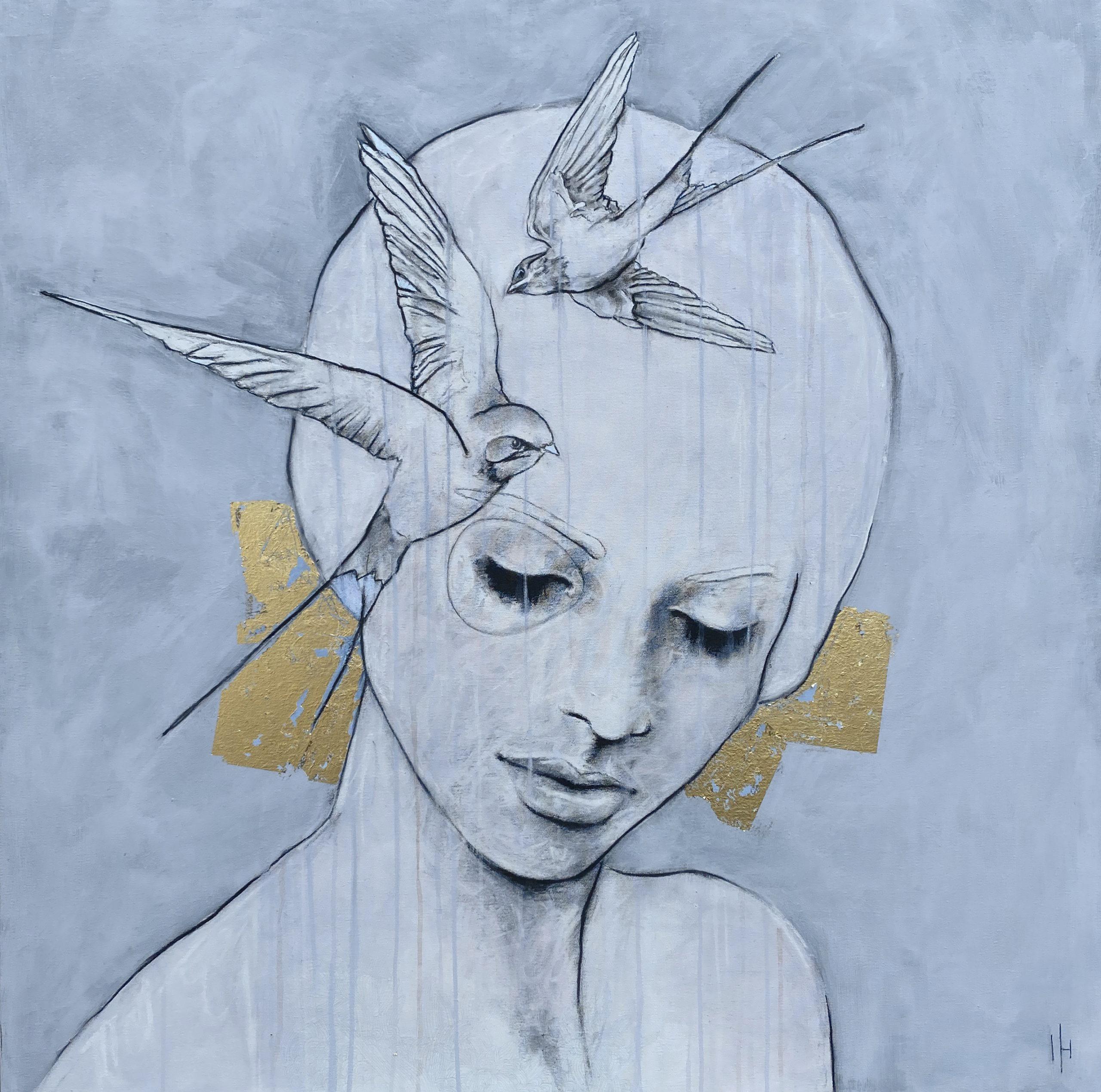 Kunst: Only thoughts van kunstenaar Greetje van den Heiligenberg